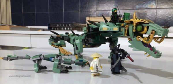 Lego Ninjago Drago Verde