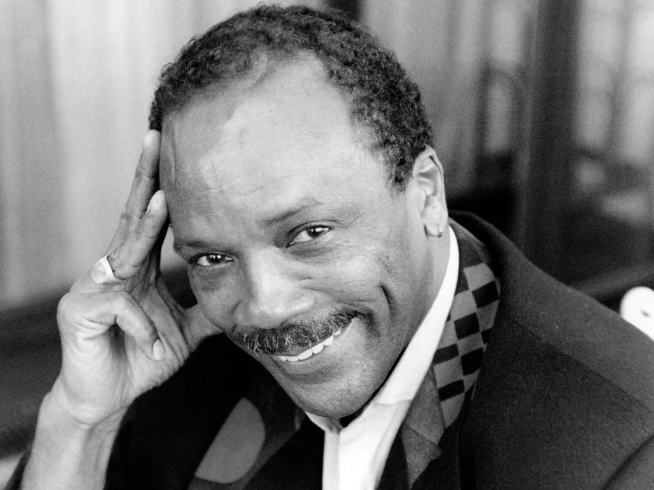 Musician Singer Quincy Jones Quincy Delight Jones Jr. (born March 14 1933) Is An American Record Producer Conductor Arranger Film Composer Television Producer And Trumpeter. His Career Spans Five Decades In The Entertainment Industry And A Record 79 Grammy Award Nominations 27 Grammys Including A Grammy Legend Award In 1991. In 1968 Jones And His Songwriting Partner Bob Russell Became The First African Americans To Be Nominated For An Academy Award For Best Original Song 'the Eyes Of Love' From The Universal Pictures Film Banning. That Same Year He Became The First African American To Be Nominated Twice Within The Same Year When He Was Nominated For Best Original Score For His Work On The Music Of The 1967 Film In Cold Blood. In 1971 Jones Would Receive The Honor Of Becoming The First African American To Be Named Musical Director/conductor Of The Academy Awards Ceremony. He Was The First African American To Win The Academy's Jean Hersholt Humanitarian Award In 1995. He Is Tied With Sound Designer Willie D. Burton As The Most Oscar-nominated African American Each Of Them Having Seven Nominations. At The 2008 Bet Awards Quincy Jones Was Presented With The Humanitarian Award. He Was Played By Larenz Tate In The 2004 Biopic About Ray Charles Ray. In Addition Jones Was The Producer Of The Album Thriller By Pop Icon Michael Jackson Which Has Sold More Than 110 Million Copies Worldwide And Was The Producer And Conductor Of The Charity Song Awe Are The Worlda.Musician Singer Quincy Jones Quincy Delight Jones Jr. (born March 14 1933) Is An American Record Producer Conductor Arranger Film Composer Television Producer And Trumpeter. His Career Spans Five Decades In The Entertainment Industry And A Record 79
