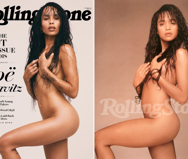 Zoe Kravitz On The Cover Of The November 2018 Issue Of Rolling Stone And Lisa Bonet
