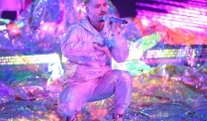 See J Balvin Perform Glittering Medley With Carla Morrison at Latin Grammys