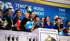 Tencent, China's Spotify, Goes Public on U.S. Stock Market