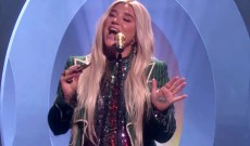 Kesha Plays Folksy Equal Rights Ballad 'Here Comes the Change' on 'Ellen'
