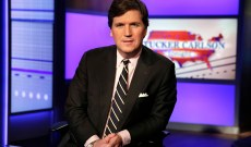Tucker Carlson Juxtaposes Migrants With Piles of Garbage as Advertisers Flee