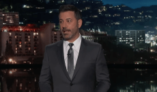 Watch Kimmel Tease People With Fake Self-Lacing Shoes