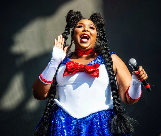 Lizzo Performs At The Voodoo Music Experience In City Park In New Orleans2018 Voodoo Music