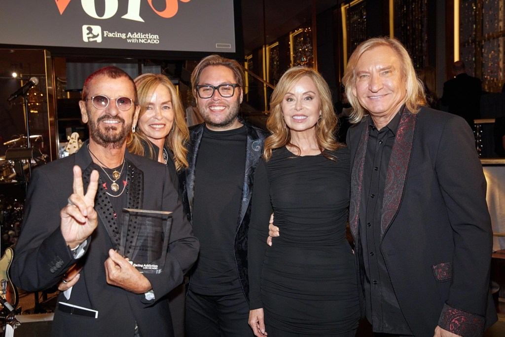 ringo starr joe walsh addiction gala
