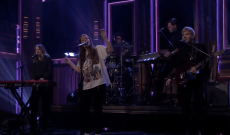 Watch Maggie Rogers Perform Emotional Ballad 'Say It' on 'Fallon'