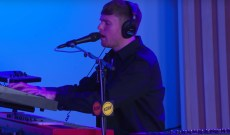 Watch James Blake Perform Romantic 'I'll Come Too' During KCRW Live Session
