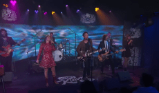 Watch Jakob Dylan and Jade Castrinos Perform 'Go Where You Wanna Go' on 'Kimmel'