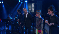 Watch The National Perform 'Rylan' on 'Colbert'