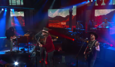 See Lukas Nelson & Promise of the Real Perform 'Bad Case' on 'Colbert'