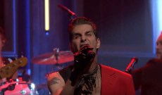 Perry Farrell Performs Hard Rocking 'Pirate Punk Politician' on 'Fallon'