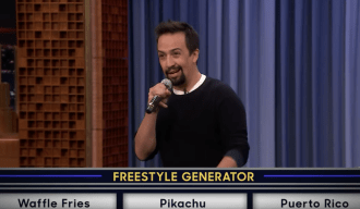 Watch Lin-Manuel Miranda Prove His Freestyle Skills on 'Fallon'