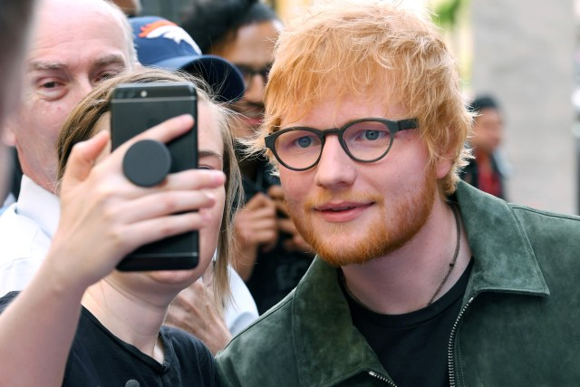Ed SheeranNordoff Robbins O2 Silver Clef Awards, Arrivals, Grosvenor House, London, UK - 05 Jul 2019
