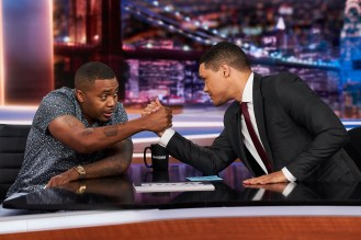 Watch Nas Talk 'Lost Tapes 2' Origins on 'The Daily Show'