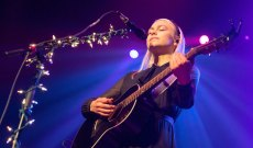 Phoebe Bridgers Covers '7 O'Clock News/Silent Night' With Fiona Apple, Matt Berninger
