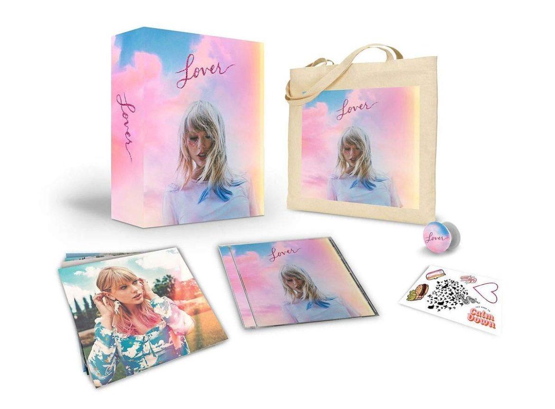 Resultado de imagen para taylor swift lover physical album