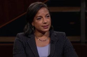 Obama Official Susan Rice Slams Trump for 'Totally Gross' Hug