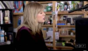Taylor Swift Plays Intimate Tiny Desk Concert, Details Inspiration for 'Lover' Songs
