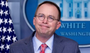 Mick Mulvaney's Appearance on Fox News Sunday Was Not to Be Believed, Literally