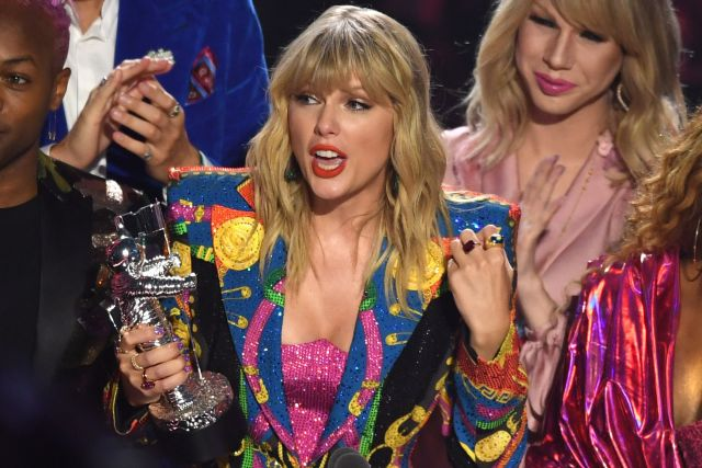 Taylor Swift - Video of the YearMTV Video Music Awards, Show, Prudential Center, New Jersey, USA - 26 Aug 2019