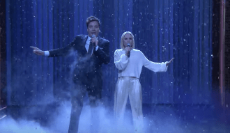 Watch Kristen Bell and Jimmy Fallon Sing the 'History of Disney Songs'
