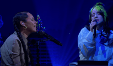 Watch Billie Eilish Team Up With Alicia Keys for 'Ocean Eyes' on 'Corden'