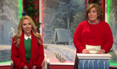 'SNL' Mocks Hallmark Channel's Christmas Movies, Addresses Brides Kissing Ad Controversy
