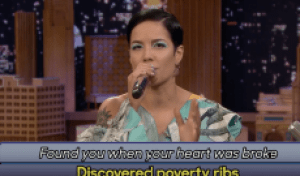 Watch Halsey Google Translate Her Song 'Without Me' on 'Fallon'