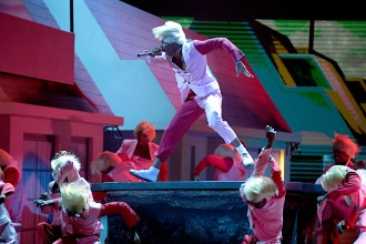 Watch Tyler, the Creator's Fiery 'Earfquake' With Charlie Wilson at the Grammys