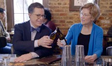 Elizabeth Warren Guesses the Billionaires on The Late Show With Stephen Colbert