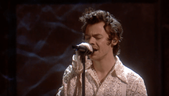 Watch Harry Styles Perform 'Falling' at 2020 BRIT Awards