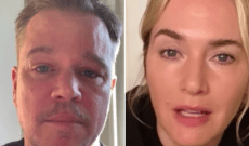 Watch 'Contagion' Stars Matt Damon and Kate Winslet Offer COVID-19 Advice