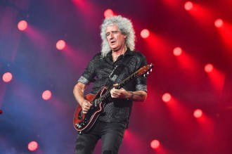 Queen's Brian May 'Grateful' After Recovering From 'Small Heart Attack'