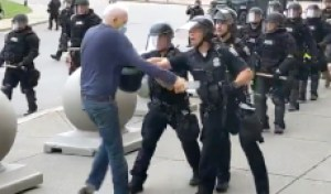 Buffalo Cops Who Shoved Man in Viral Video Charged With Assault