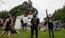 As Slaveholder Statues Come Down, America's Birthday Party Gets Weird