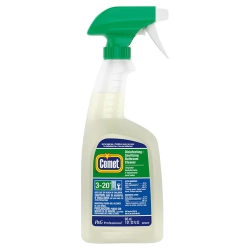 disinfectant spray for comet
