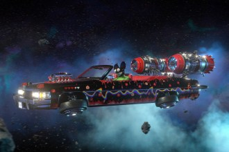 Deadmau5 Zips Through an Intergalactic Car Race in New 'Pomegranate' Video