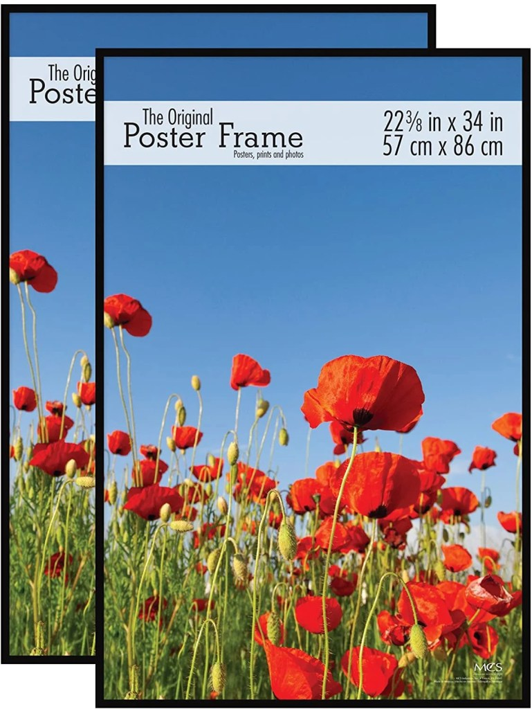 the best poster frames for hanging art