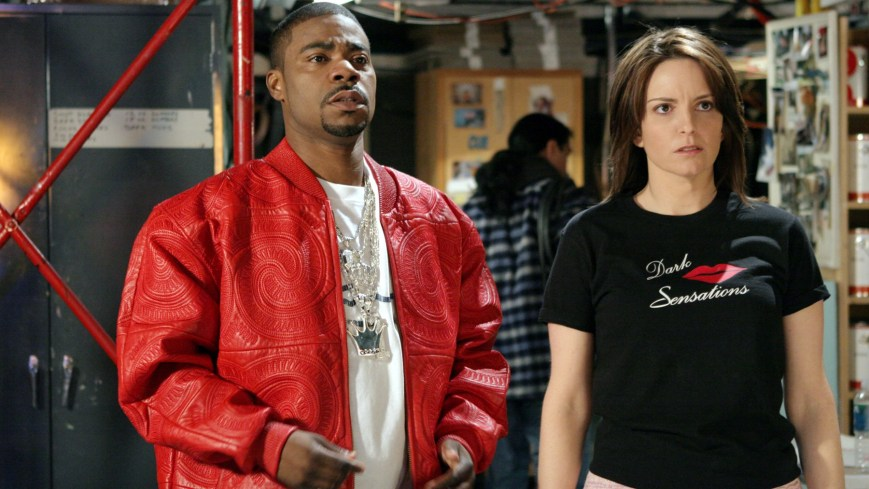 30 ROCK, Tracy Morgan, Tina Fey, (Season 1), 2006-, photo: Eric Liebowitz / © NBC / Courtesy: Everett Collection