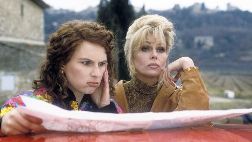 ABSOLUTELY FABULOUS, (from left): Jennifer Saunders, Joanna Lumley, (Season 1), 1992-2012. photo: ©BBC / Courtesy: Everett Collection