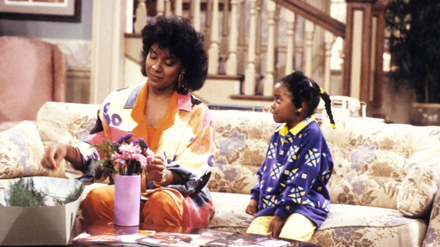 THE COSBY SHOW, from left: Phylicia Rashad, Keshia Knight Pulliam, 1984-1992. © NBC /Courtesy Everett Collection