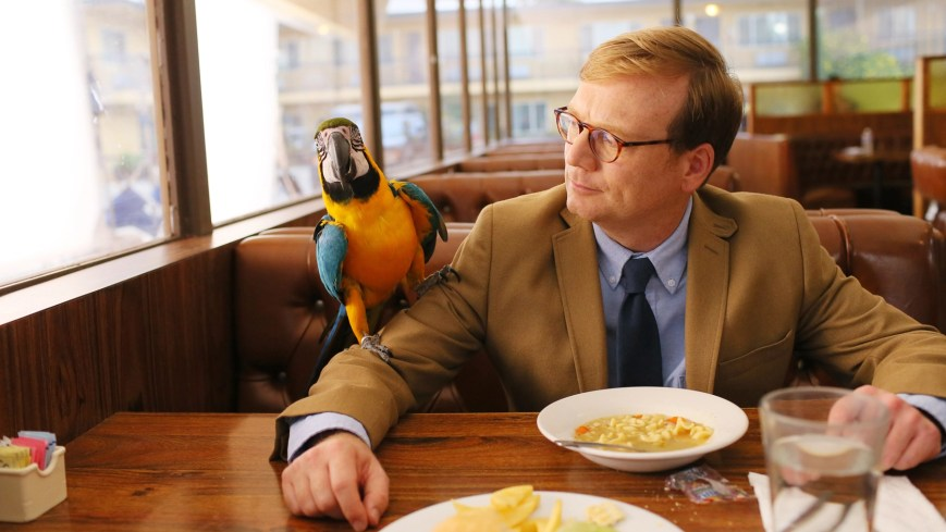 REVIEW, Andrew Daly (as Forrest MacNeil), 'Curing Homosexuality, Mile High Club', (Season 2, ep. 202, aired Aug. 6, 2015). ph: Mark Davis / ©Comedy Central / courtesy Everett Collection