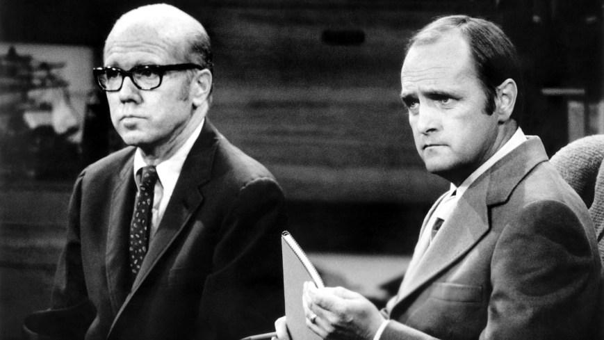 THE BOB NEWHART SHOW, from left: John Fielder, Bob Newhart, 1972-78