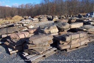 Country Fieldstone Steppers
