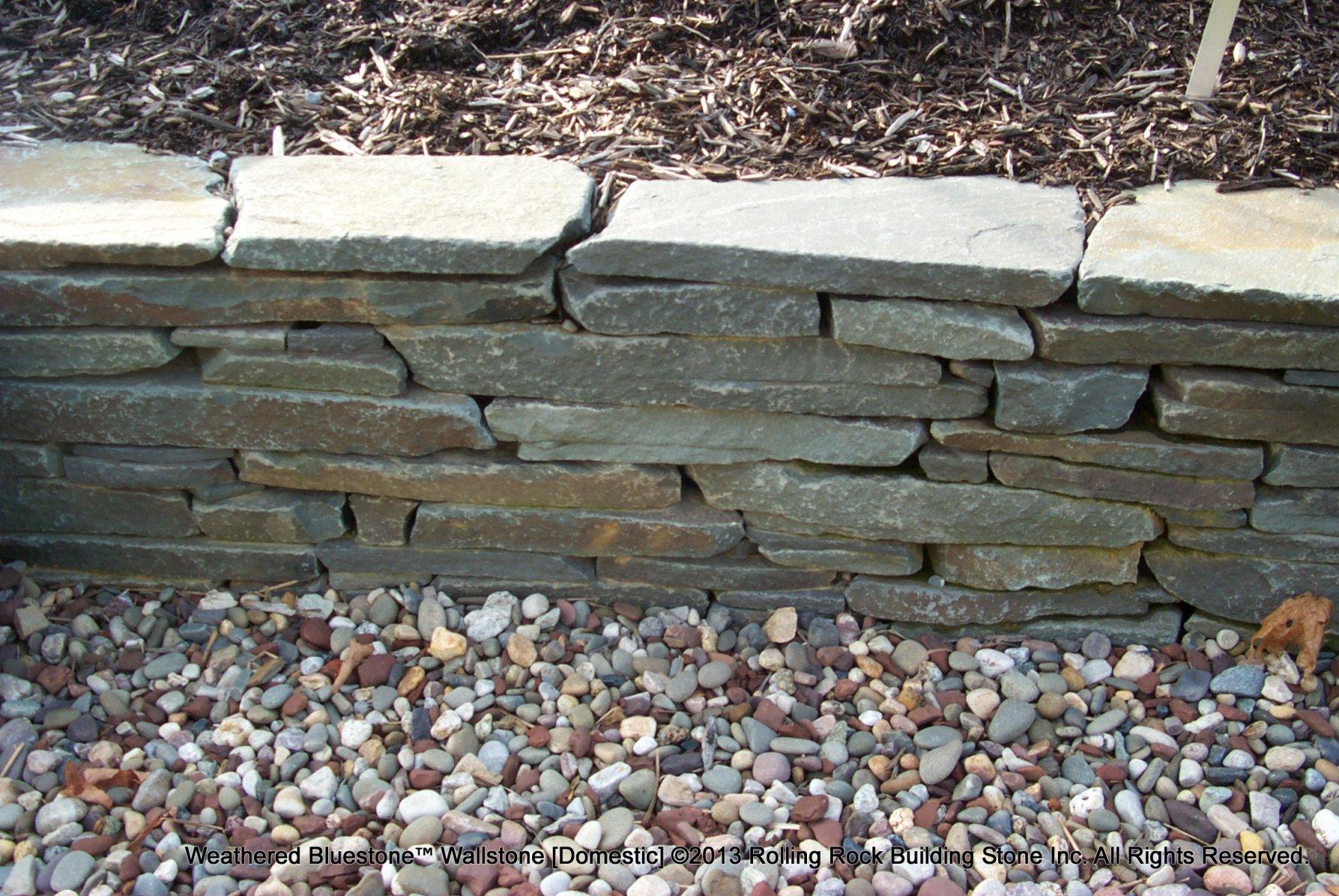Weathered Granite Stone : Weathered bluestone™ rolling rock building stone inc