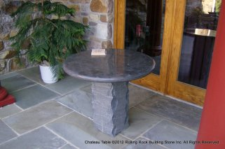 polished round table-001