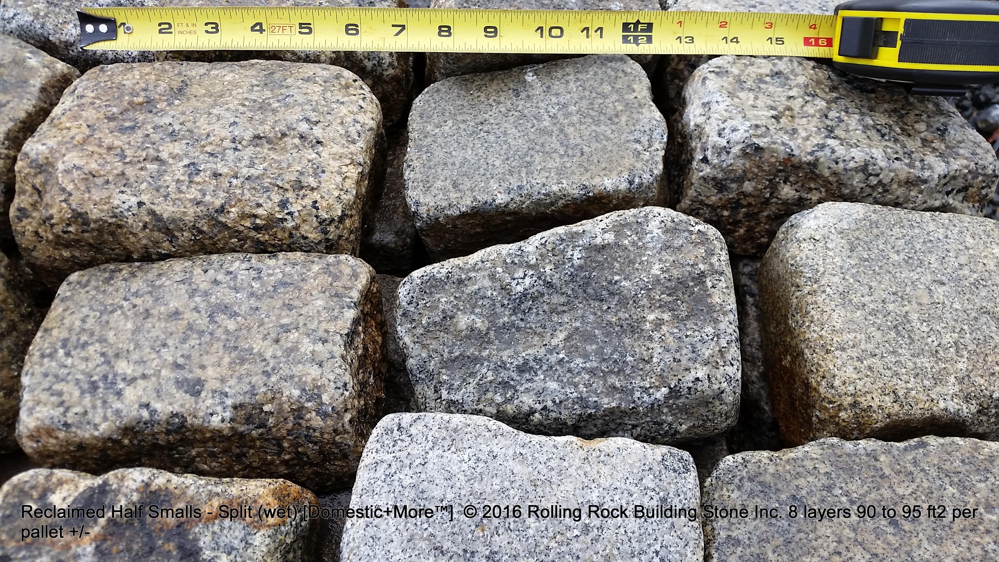 Reclaimed Split Small | Rolling Rock Building Stone, Inc