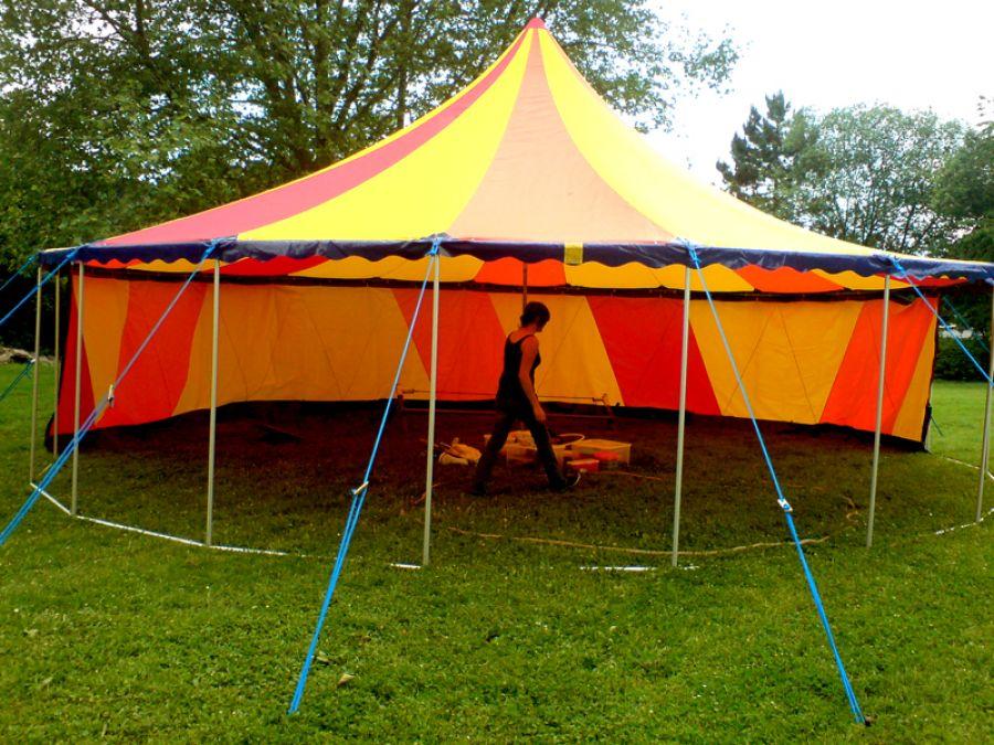 Zelt 10 Meter : Unser meter zirkuszelt können sie auch für ihre eigenen