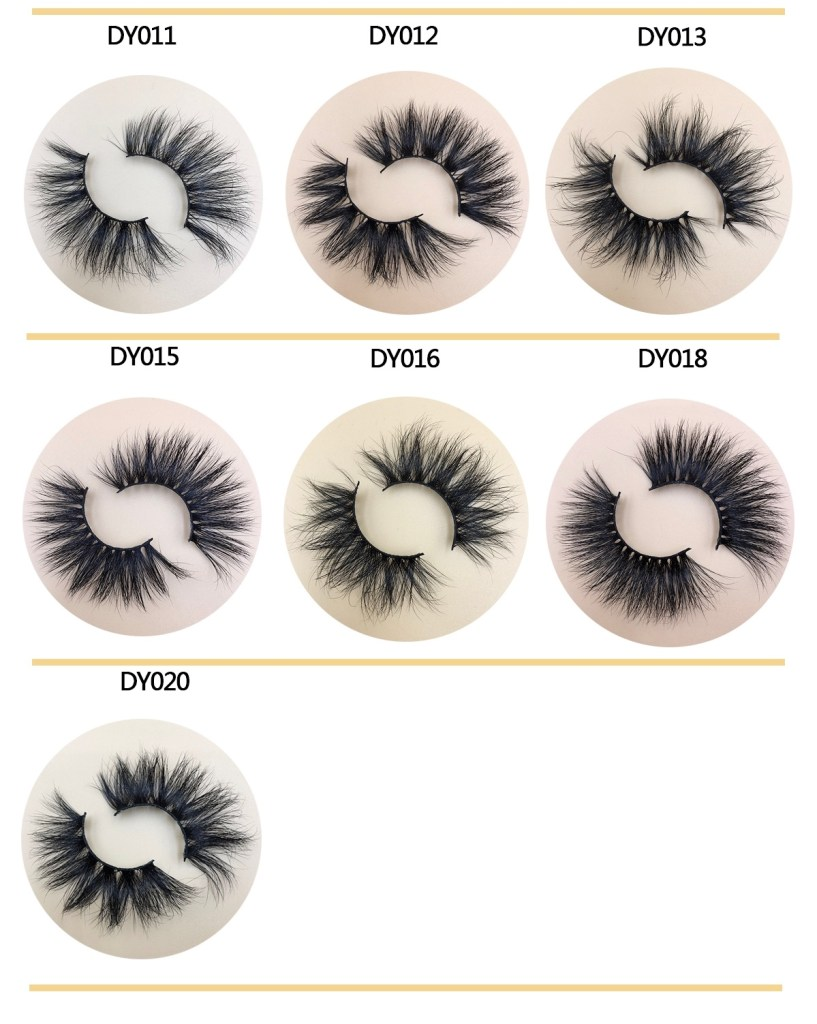 25MM Mink Eyelashes Wholesale
